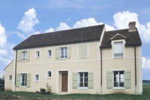une maison neuve au charme de l'ancien au nord ouest de PARIS (95)