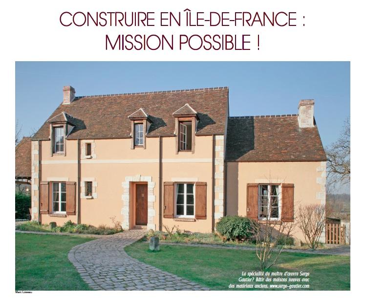 Serge gautier presse 03 fcsm2013 serge gautier Les maisons gautier