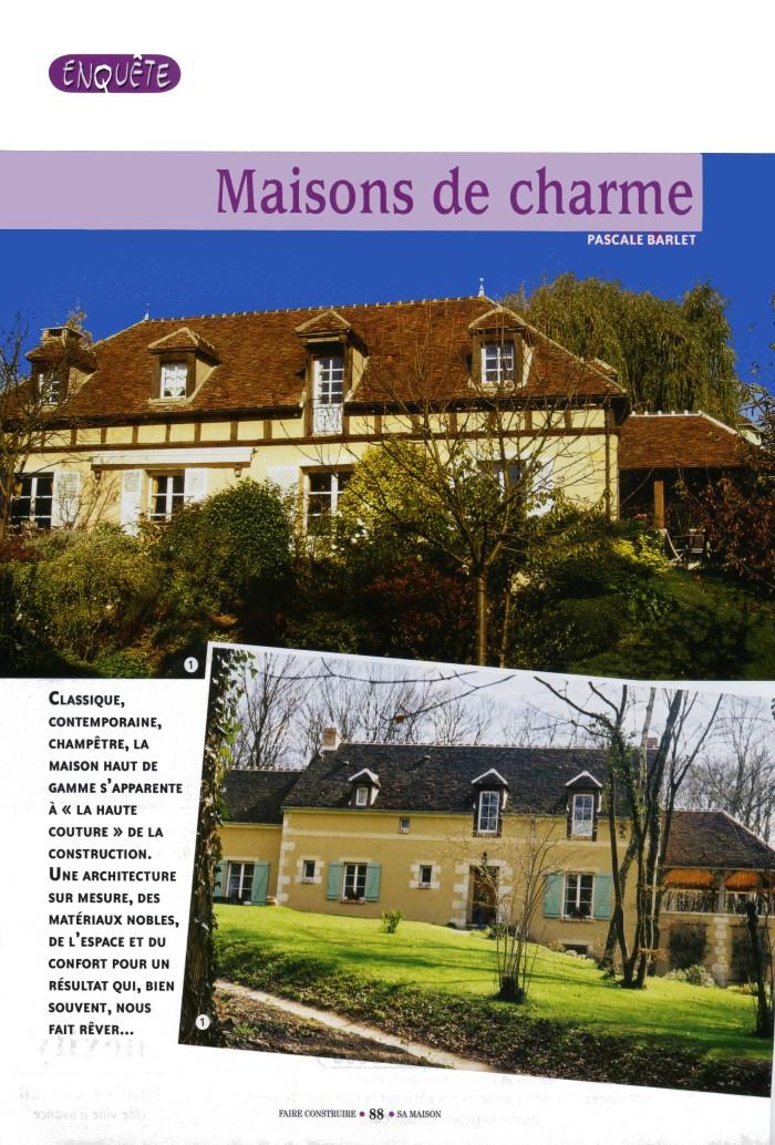 Presse serge gautier - Les maisons gautier ...