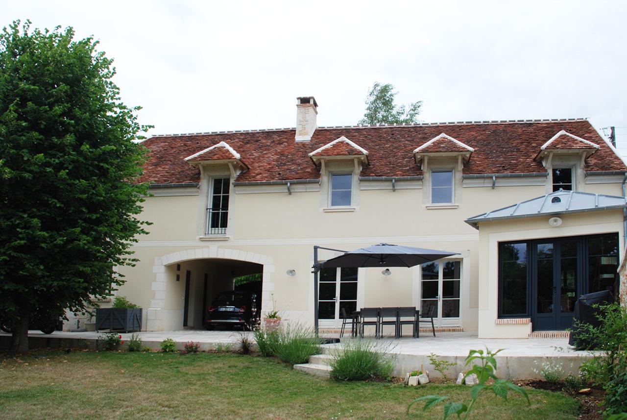 Maison De Campagne Vexin construction de maisons de charme en ile de france - serge