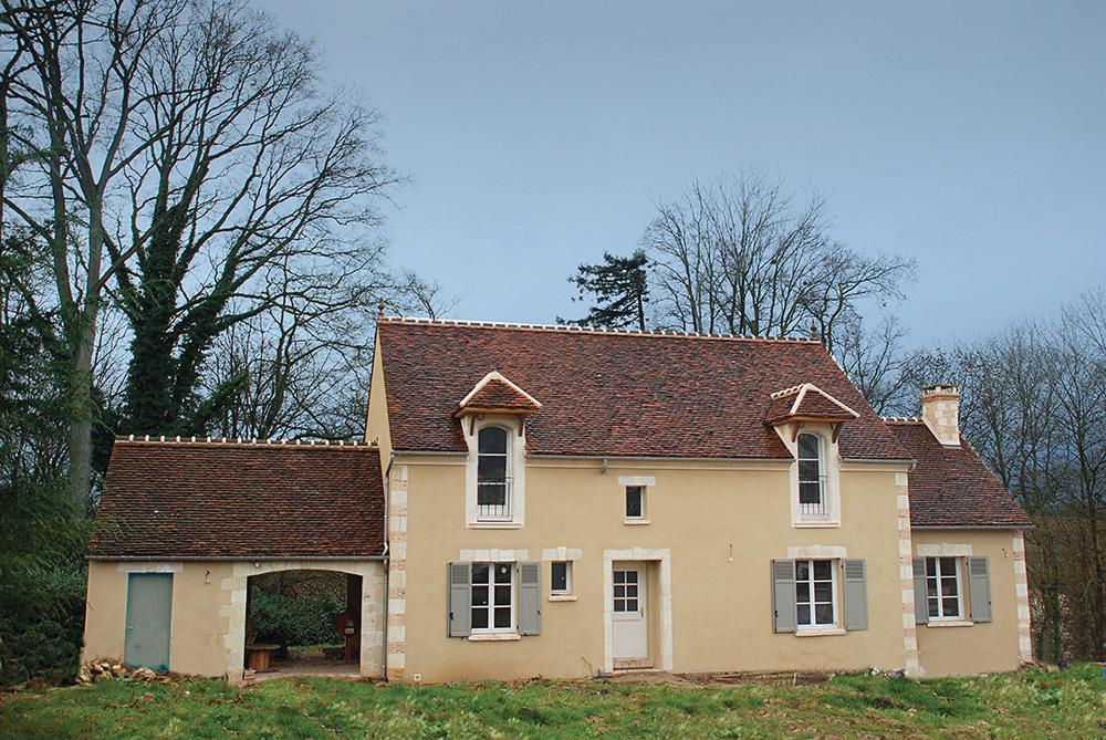 Construction de maisons de charme serge gautier - Construction maison style ancien ...