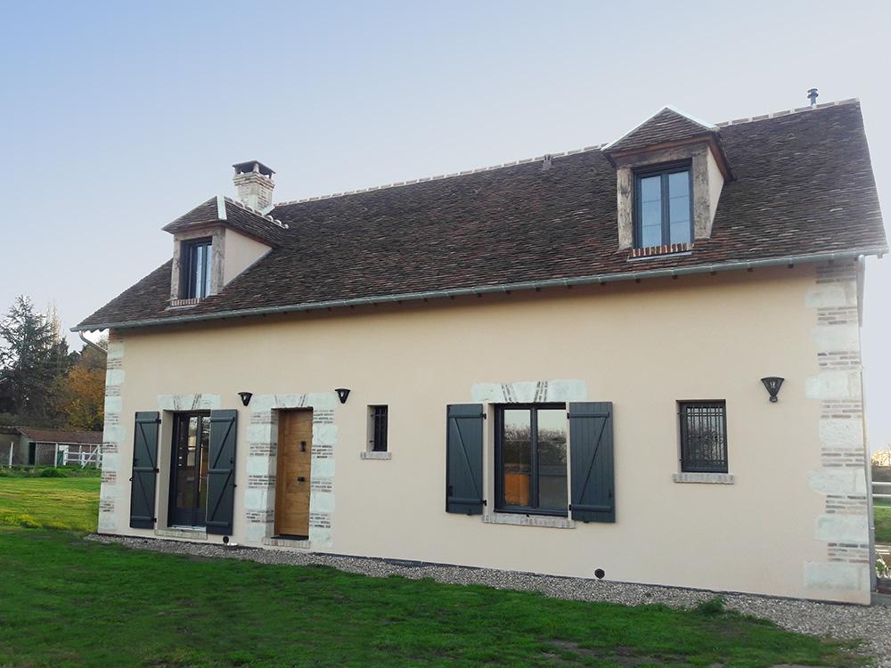 Construction de maisons de charme en ile de france serge gautier - Les maisons gautier ...