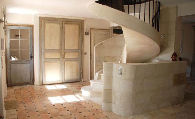 serge-gautier-creation-interieur-001-escalier - Serge Gautier
