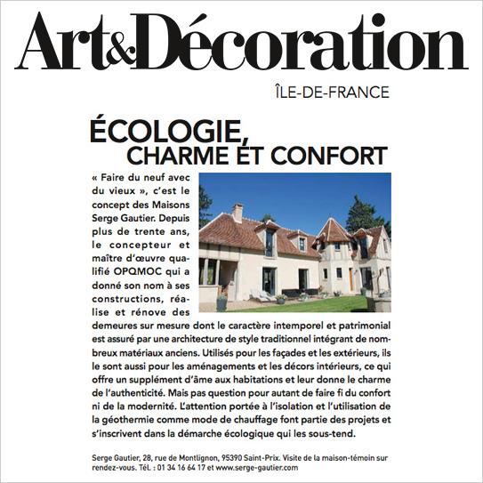 Art et d coration serge gautier - Les maisons gautier ...