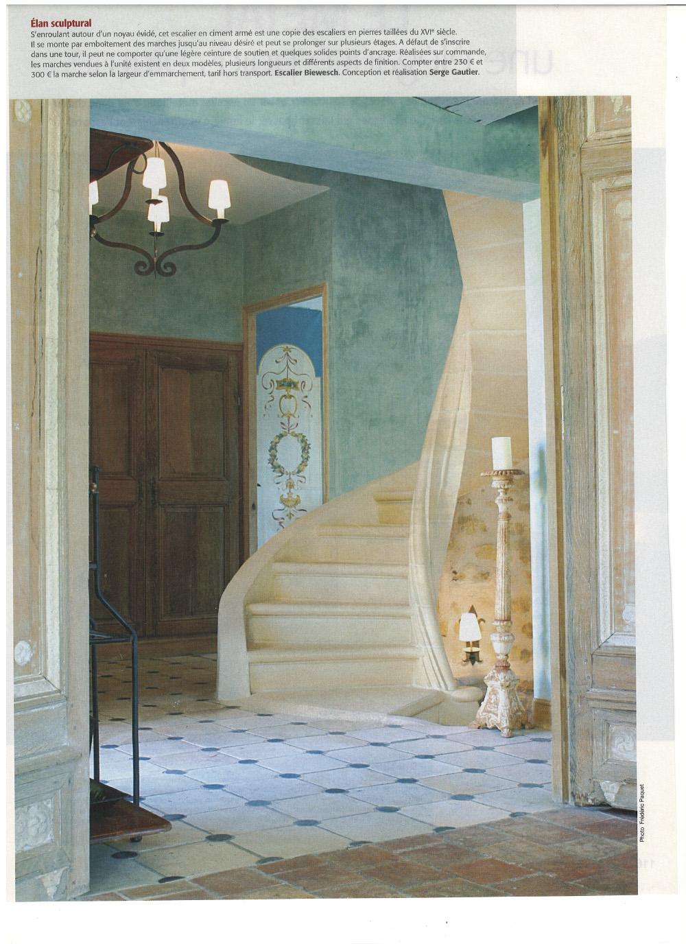 escalier serge gautier serge gautier. Black Bedroom Furniture Sets. Home Design Ideas
